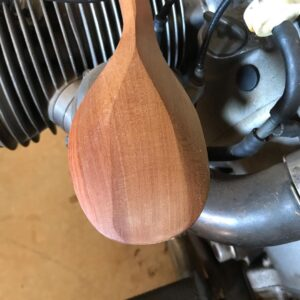 100. 3 Phillip Doye Hand Carved Wooden Spoon