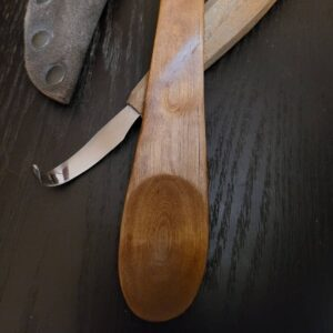 142. 5 Bare Spoons Accessories Hand Carved Wooden Spoon