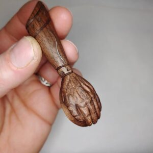 20. 3 Anton P. Hand Carved Wooden Spoon
