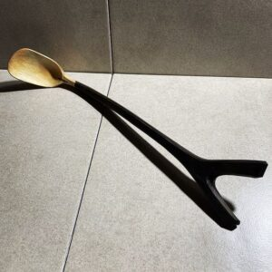 212. 4 Joshua Toni Lee Hand Carved Wooden Spoon