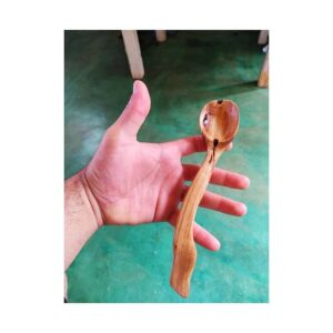 213. 5 Crevs Claro Hand Carved Wooden Spoon
