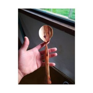 222. Crevs Claro Hand Carved Wooden Spoon