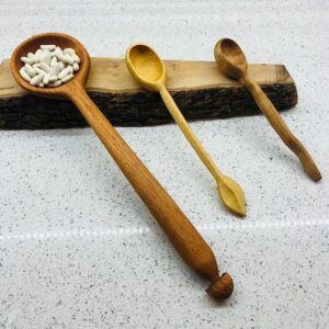 230. Tracy Deco Hand Carved Wooden Spoon