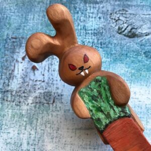 315. 4 Patrice Spoons By Nature Hand Carved Wooden Spoon