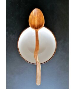 363. Graham Beadle Hand Carved Wooden Spoon