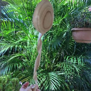 411. 3 Mary Ellen Hand Carved Wooden Spoon