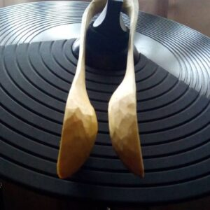 414. 3 Spoonshi 247 Hand Carved Wooden Spoon