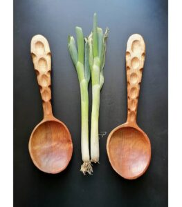 47. Graham Beadle Hand Carved Wooden Spoon