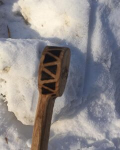78. 4 Michael Zhukov Hand Carved Wooden Spoon