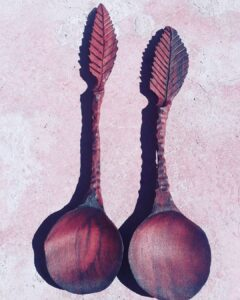 8. 1 Pablo Iglesias Hand Carved Wooden Spoon